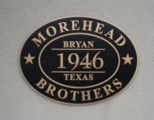 Morehead Brothers - Since 1946 - ACME Glass